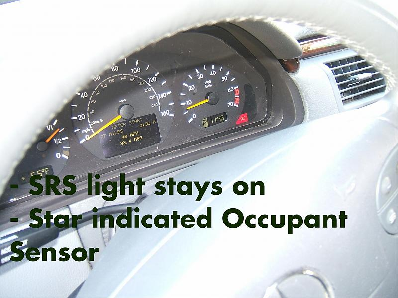 How To Reset Srs Light On Mercedes Vito ...