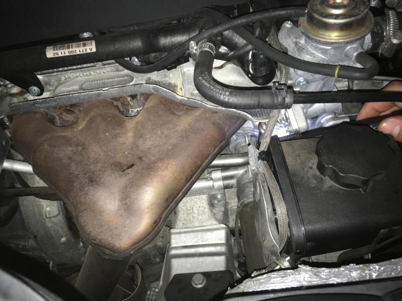 2005 C230 Kompressor Coolant Leak - Page 2