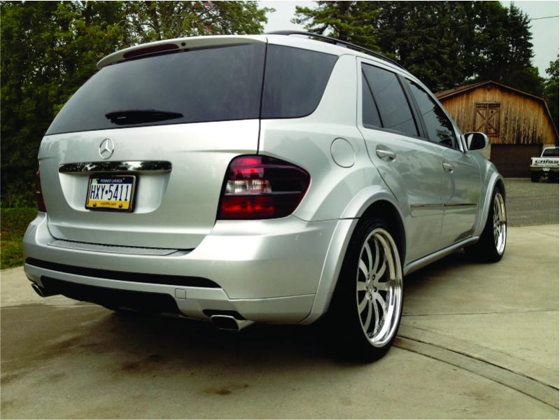 06 ml 350 w164 lowered with custom wheels. - Mercedes-Benz Forum