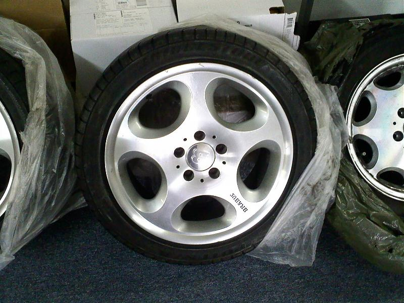 "Mercedes For Sale >> FS: Mercedes and Brabus Wheels 16 & 17"" w/ tires! CHEAP - Mercedes-Benz Forum"