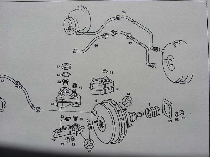 240d - 3 Way Vacuum Valve Between Pump And Brake Booster