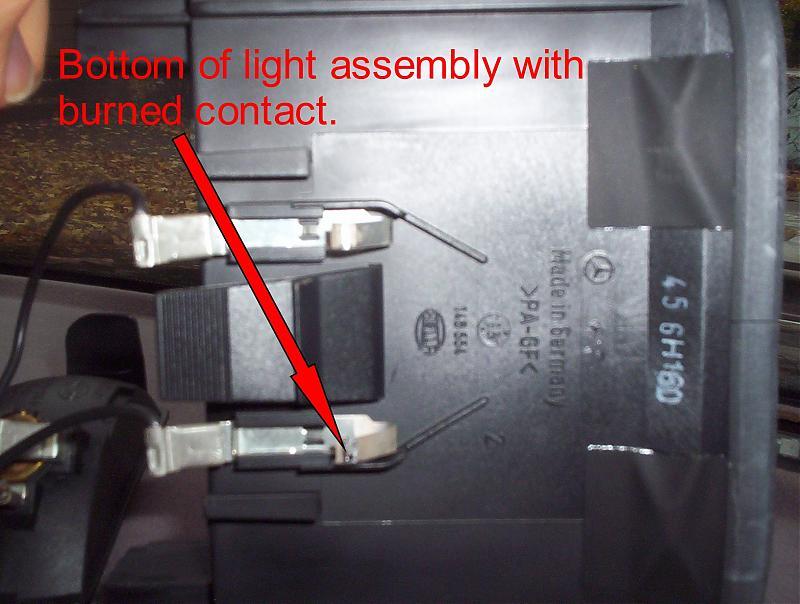 Third Brake Light Repair \'97 - Mercedes-Benz Forum