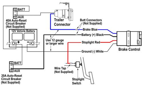 24v Truck With 12v Trailer Wiring, Wiring Diagram For Trailer Lights And Electric Brakes