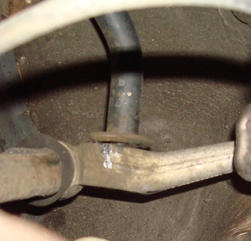 Broken sway bar end on 350SDL - Mercedes-Benz Forum