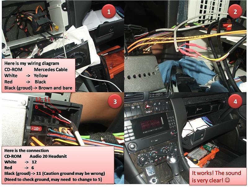 2007 C230 Aux Input Help - Page 4