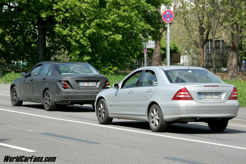 C63 AMG spy shots and more...-c-class-old_and_new.jpg