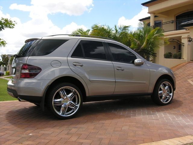 New 22 wheels for my ml350 mercedes benz forum for Mercedes benz with rims