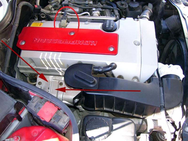 Camshaft Position Sensor\ Location For 20012004 Slk Mercedes Rhbenzworldorg: 2002 Mercedes C230 Camshaft Position Sensor Location At Gmaili.net