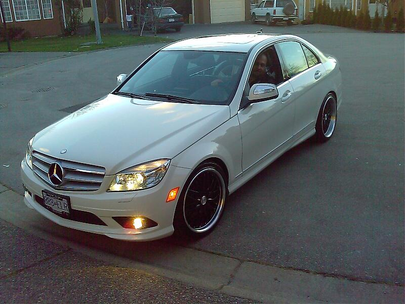 Finally Some Pics Of My C300 Sport With 19s Mercedes
