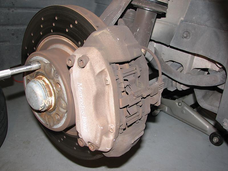 Changing Brake Pads - Mercedes-Benz Forum
