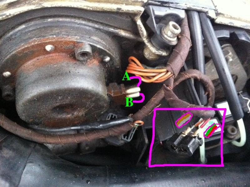 Help  Camshaft Adjuster Magnet - Wiring