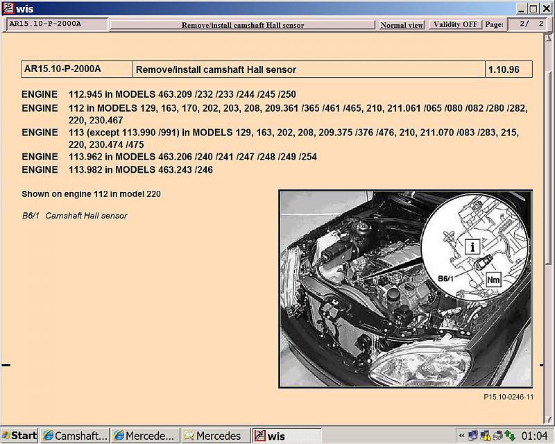 Camshaft Position Sensor Location Mercedesbenz Forumrhbenzworldorg: Camshaft Position Sensor Location On Kia Sedona Sd At Gmaili.net