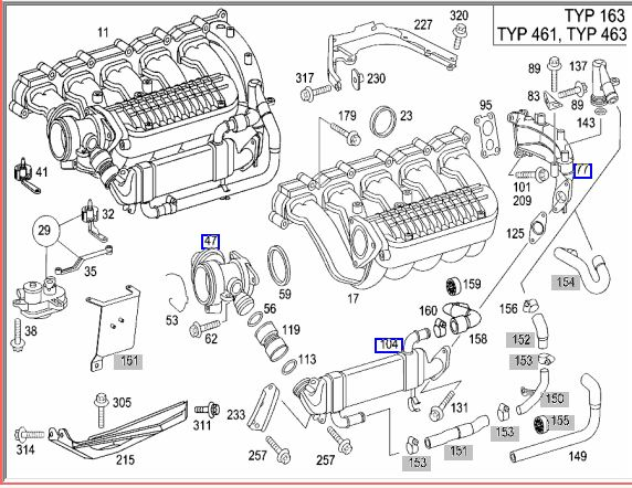 sprinter egr wiring diagram wiring diagram third level Dodge Sprinter Engine Diagrams problem with the egr valve mercedes benz forum sprinter van parts breakdown click image for