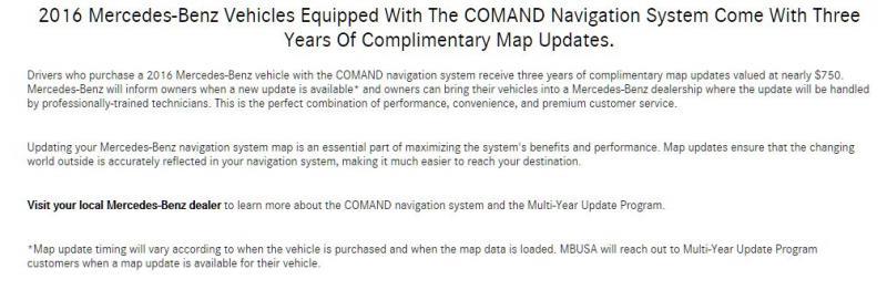 Navigation System Update - Mercedes-Benz Forum