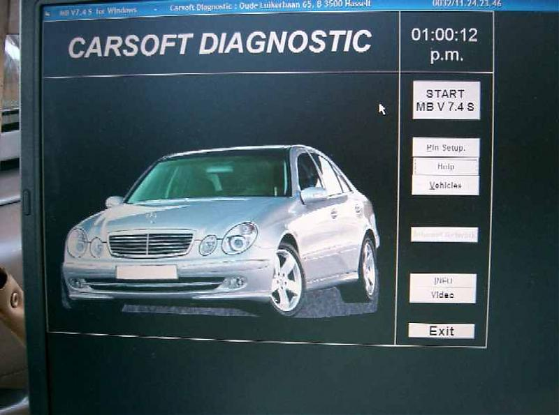 mercedes carsoft 7.4