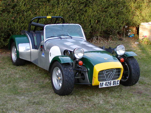 not knowing what a Caterham