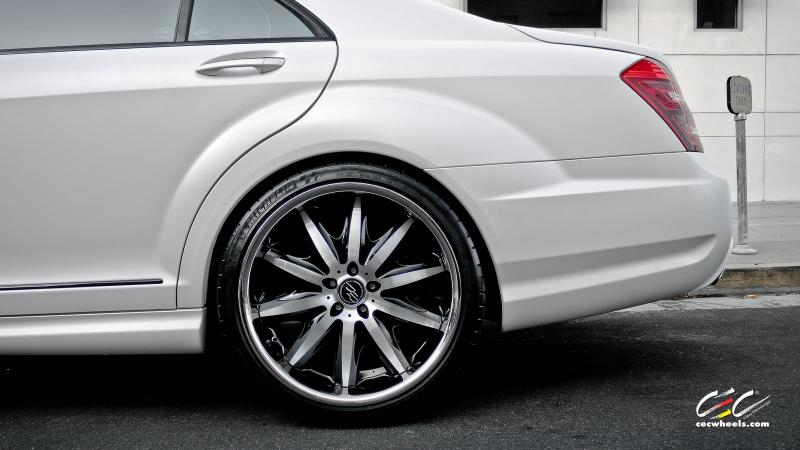 Mercedes Benz Amg >> 21 INCH CEC STAGGERD RIMS FOR S550 CL550 LIKE BRAND NEW