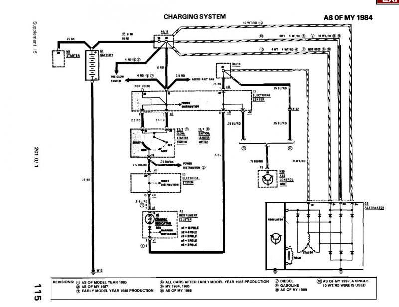 mercedes benz wiring diagram altermator alternator not charging battery  alt checks out o k mercedes  alternator not charging battery  alt