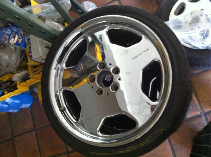 D Amg Wheels Inch Chrome Amg