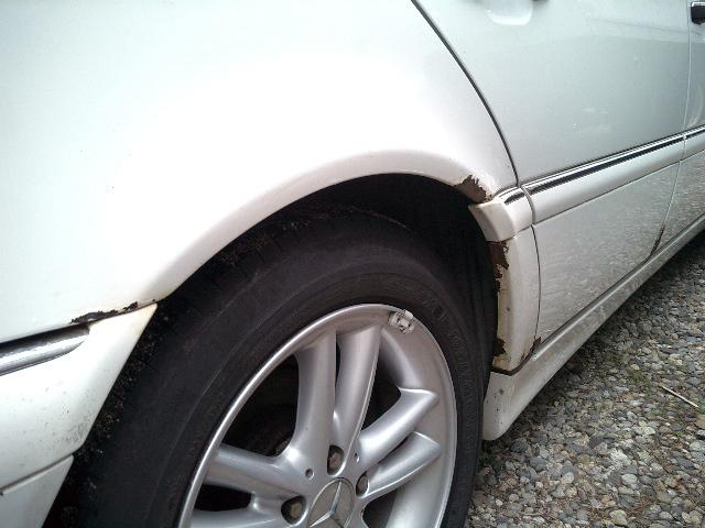 Major Rust Issues Mercedes Benz Forum