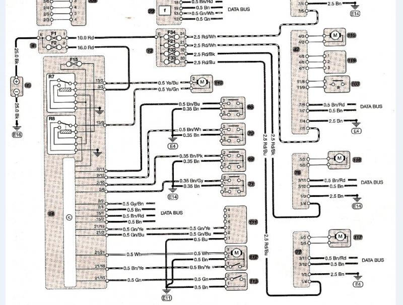wiring diagrams - central locking - mercedes-benz forum, Wiring diagram