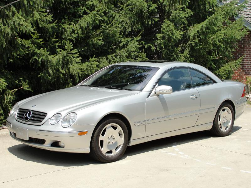 2001 Mercedes Benz CL600 Sport Coupe 57K miles AMG Rims - YouTube