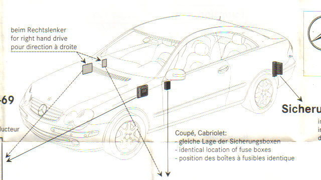 A209 Clk 55 Amg Fuse And Relay Diagram Free Wiring