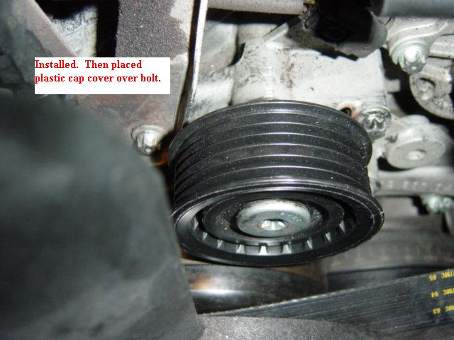 Idler Pulley Bearing replacement | Mercedes-Benz Forum