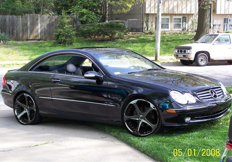 Best rims for black clk320 mercedes benz forum for Mercedes benz clk320