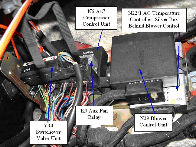 380 sl flasher  blinker  relay location