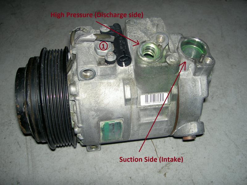 Ac Compressor Oil >> Where To Add A C Compressor Oil Mercedes Benz Forum