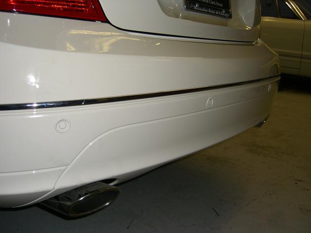 Front and rear parking sensor kit install mercedes benz for Mercedes benz installing parking sensors aftermarket