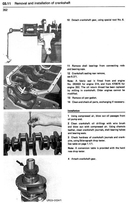 om352 crank cam timing help mercedes benz forum rh benzworld org Deutz Engine Parts Manual Johnson Engine Repair Manual