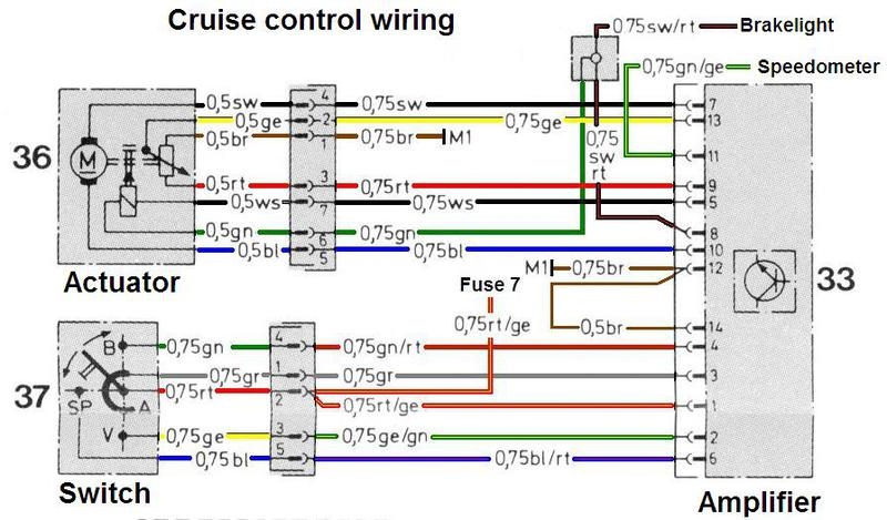 Cruise Control Switch - Blue Wire