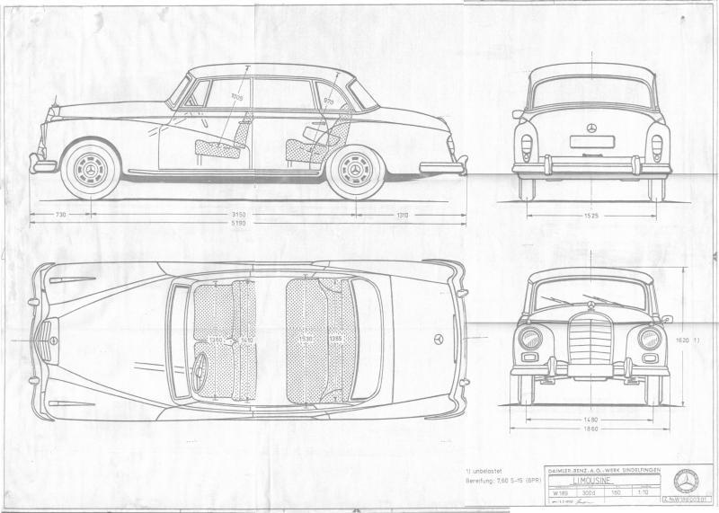 Help me find blueprints (drawing) - Mercedes-Benz Forum