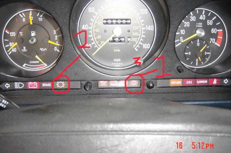 Dash Lights Definition Mercedes Benz Forum