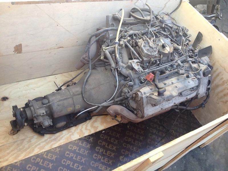 AMG M117 6 0L 32V motor for sale $8k in Kiev, Ukraine - just figure