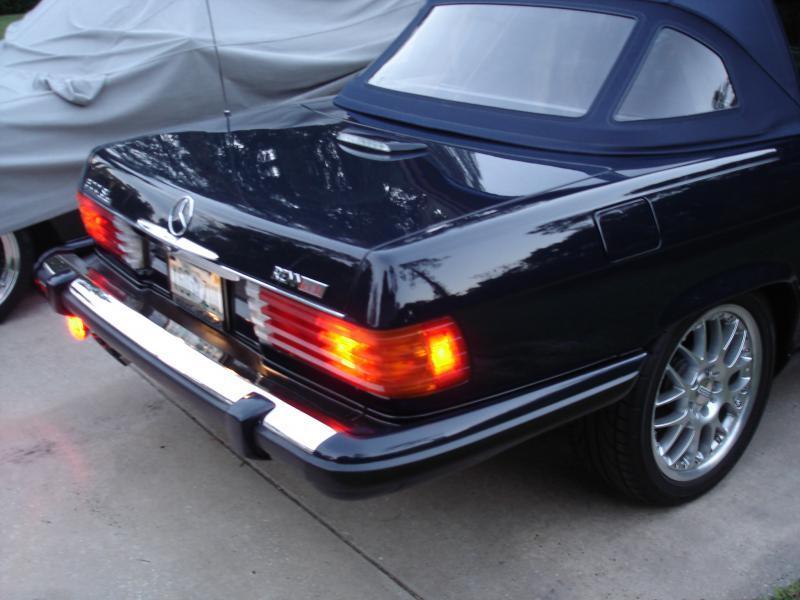 Details about  /For 1986-1989 Mercedes 560SL Fog Light Lens 18935ZR 1988 1987 Fog Light
