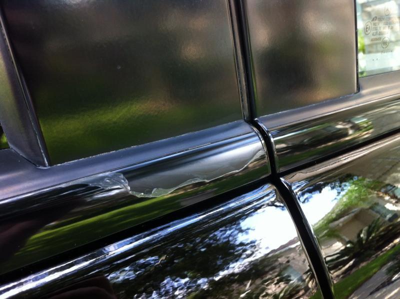 Exterior Window Trim Peeling Mercedes Benz Forum