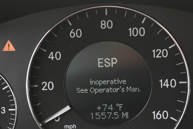E350 2007 Esp Light Is On Mercedes Benz Forum