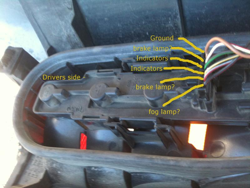 Rear Fog Light Switch Wiring Nasioc