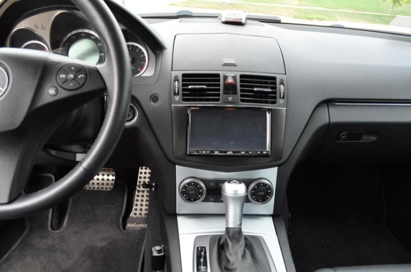 W204 mercedes c300 custom double din for sale mercedes for Custom mercedes benz for sale