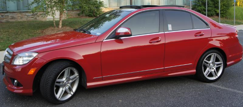 FS: 2008 RED C350 Sport With ALL Options $27k - Mercedes ...
