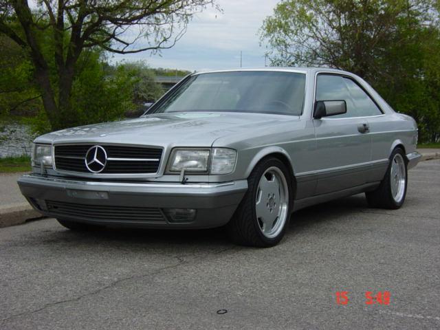 1991 mercedes 560 sec
