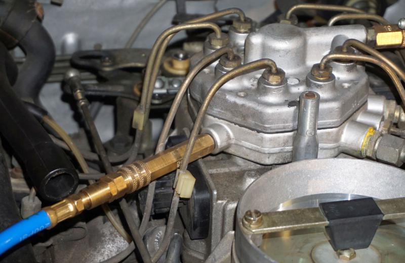 1987 Mercedes 560Sl >> Fuel Pressure Testing - Mercedes-Benz Forum