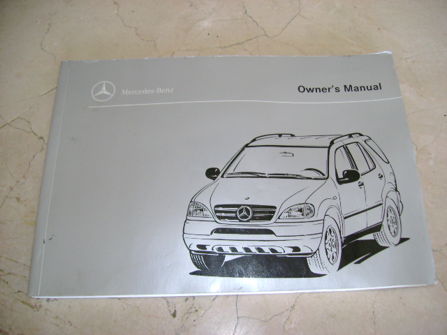 2008 mercedes benz m class ml320 ml350 ml550 ml63 models owners manual factory x