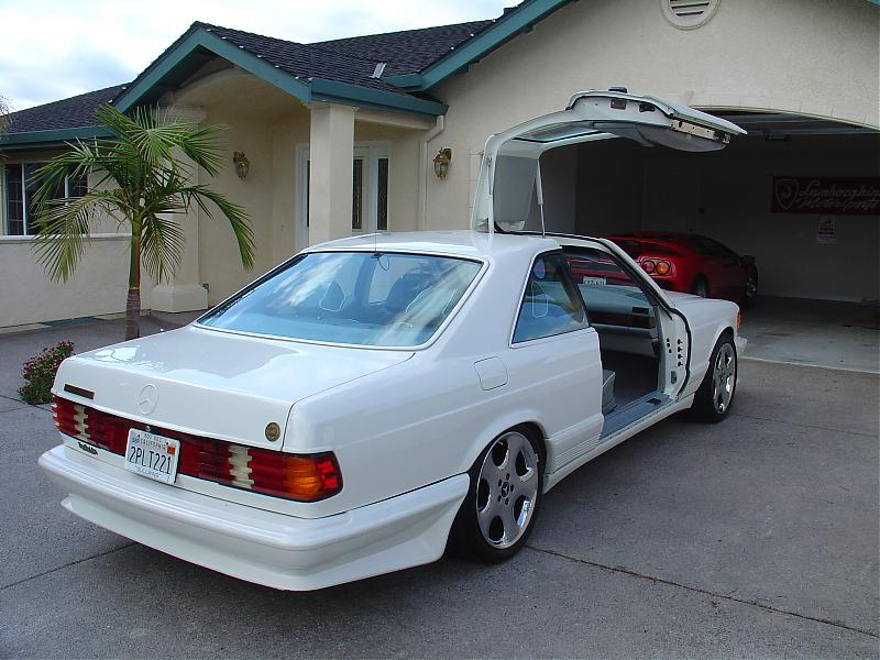 500 Sec Quot Gullwing Quot On Ebay Page 2 Mercedes Benz Forum