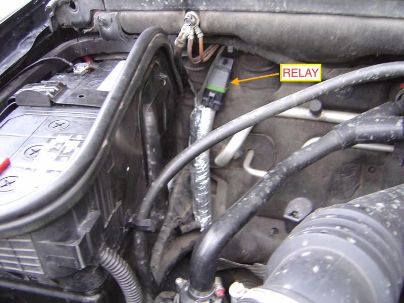 Water Pump Relay Wiring on