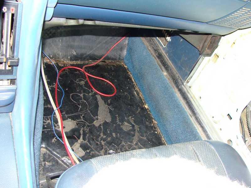 R107 73 450sl Floor Insulation Mercedes Benz Forum