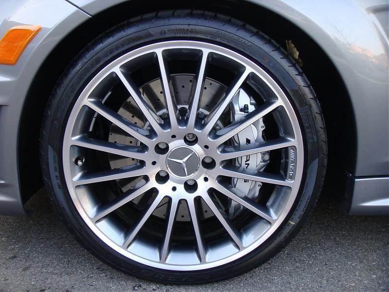 Mercedes turbine wheels
